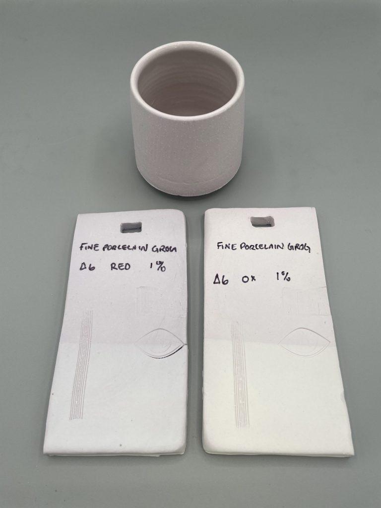 1% Fine Porcelain Grog