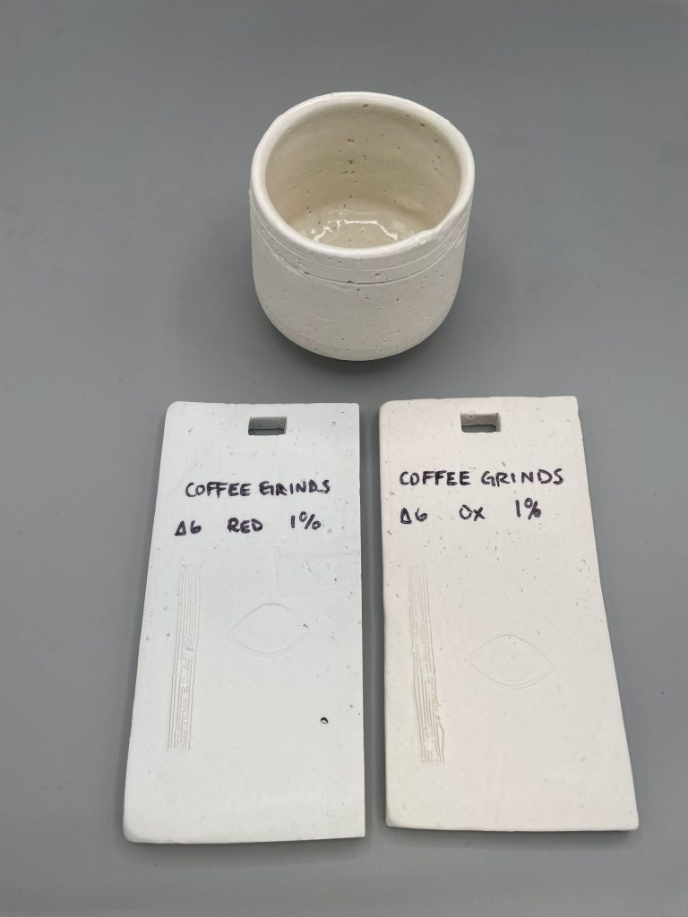 1% Coffee Grinds
